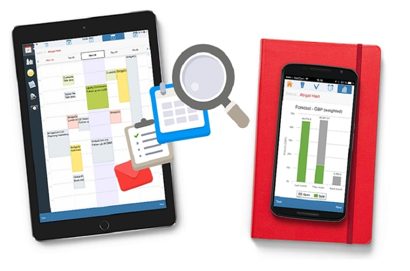 Pocket CRM version 9.0.7 update for SuperOffice, explained by Synergy Technology.