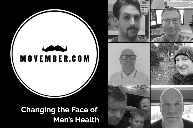 Synergy Technology taking part in Movember 2020.